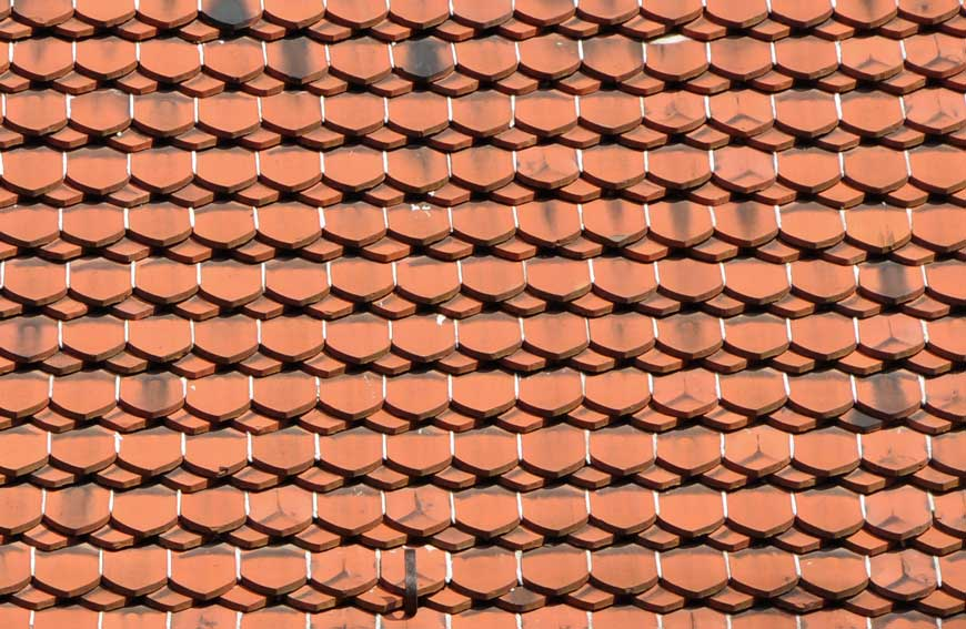 Dachziegel aus polen